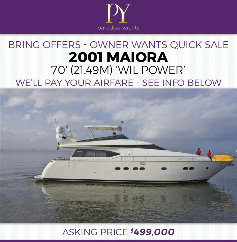 Impeccably Maintained 2001 Maiora